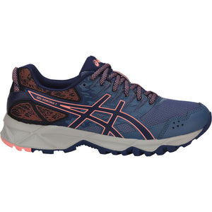 Women's Asics Gel-Sonoma 3 Running Shoe in Smoke Blue/Indigo Blue/Begonia Pink
