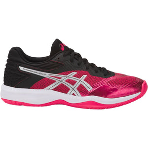 Women's Asics Netburner Ballistic FF Volleyball Shoe in Pixel Pink/Black