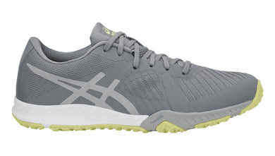 Women's Asics Weldon X Training Shoe in Stone Grey/Mid Grey/Limelight