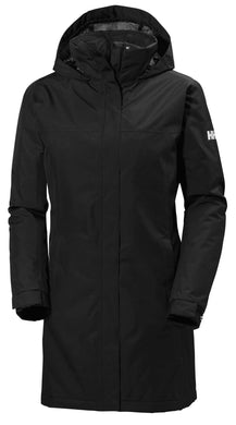 Helly Hansen Women's Aden Insulated Coat in Black from the front
