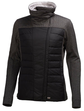 Helly Hansen Women's Astra Fleece Jacket in Black from the front