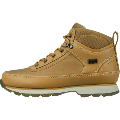 Helly Hansen Women's Calgary Winter Boot in Bone Brown-Natura-Hh from the side