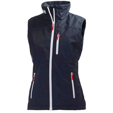 Helly Hansen Women's Crew Vest in Navy from the front