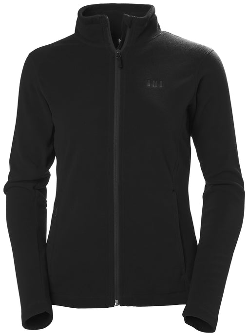 Helly Hansen Women's Daybreaker Fleece Jacket in Black from the front