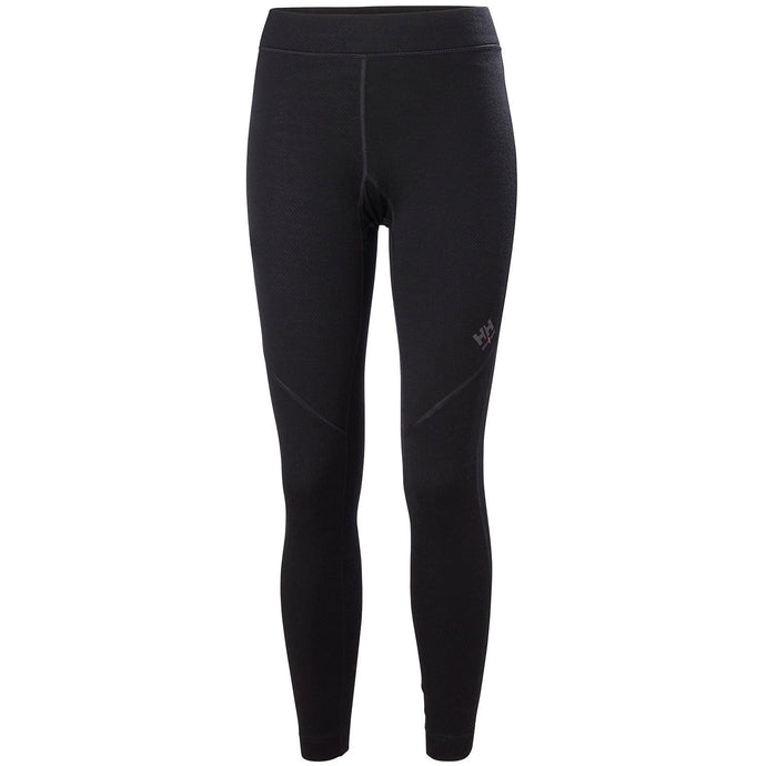Helly Hansen Women's Lifa Merino Pant in Black from the front
