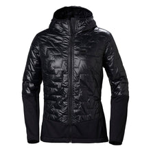 Load image into Gallery viewer, Helly Hansen Women's Lifaloft Hybrid Insulator Jacket in Black from the front