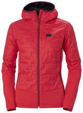 Load image into Gallery viewer, Helly Hansen Women's Lifaloft Hybrid Insulator Jacket in Raspberry from the front