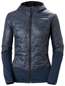 Helly Hansen Women's Lifaloft Hybrid Insulator Jacket in Slate from the front