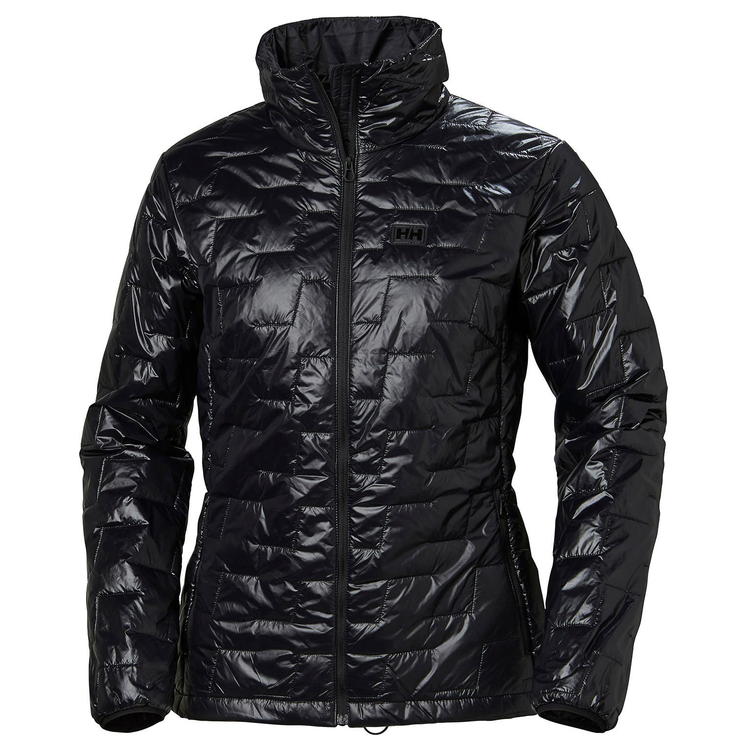 Helly Hansen Women's Lifaloft Insulator Jacket in Black from the front