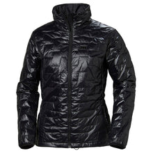 Load image into Gallery viewer, Helly Hansen Women's Lifaloft Insulator Jacket in Black from the front