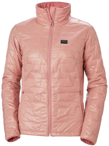 Helly Hansen Women's Lifaloft Insulator Jacket in Misty Rose from the front