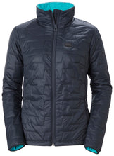 Load image into Gallery viewer, Helly Hansen Women's Lifaloft Insulator Jacket in Slate from the front