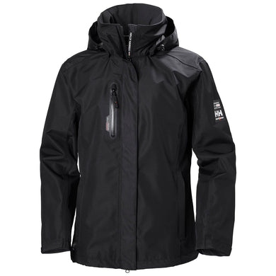 Helly Hansen Women's Manchester Haag Shell Jacket in Black from the front