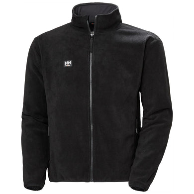 Helly Hansen Men's Manchester Red Lake Zip In Jacket in Black from the front