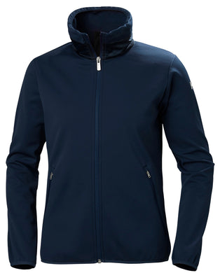 Helly Hansen Women's Naiad Fleece Jacket in Evening Blue from the front