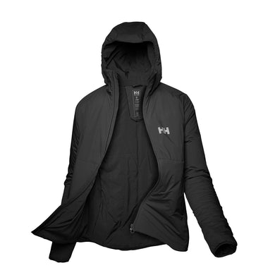 Helly Hansen Women's Odin Stretch Hooded Insulated Jacket in Black from the front