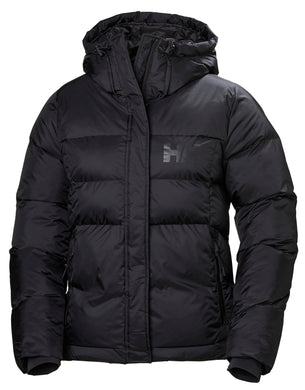 Helly Hansen Women's Stellar Puffy Jacket in Black from the front