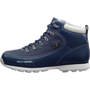 Helly Hansen Women's The Forester Winter Boot in Deep Blue-Off White-L from the side