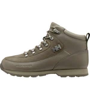 Helly Hansen Women's The Forester Winter Boot in Fallen Rock-Aluminum from the side