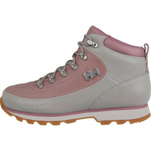 Helly Hansen Women's The Forester Winter Boot in Silver Cloud-Bridal Ros from the side