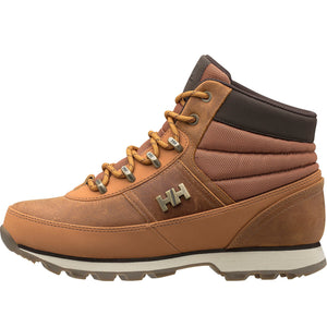 Helly Hansen Women's Woodlands Winter Boot in Honey Wheat-Cashew-Sp from the side