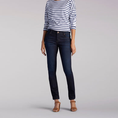 Dream Soft Slim Fit Skinny Leg Jean in Niagara from Front View