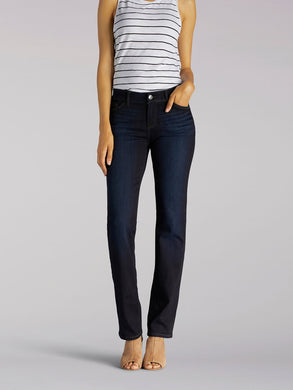 Flex Motion Regular Fit Straight Leg Jean in Niagara from Front View