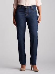 Stretch Relaxed Fit Straight Leg Jean in Verona from Front View