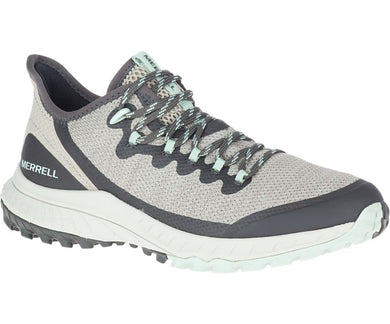 Merrell Women's Bravada Hiking Shoe in Aluminum from the side