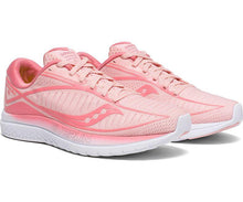 Load image into Gallery viewer, Saucony Women's Kinvara 10 Running Shoe in Rose from the side