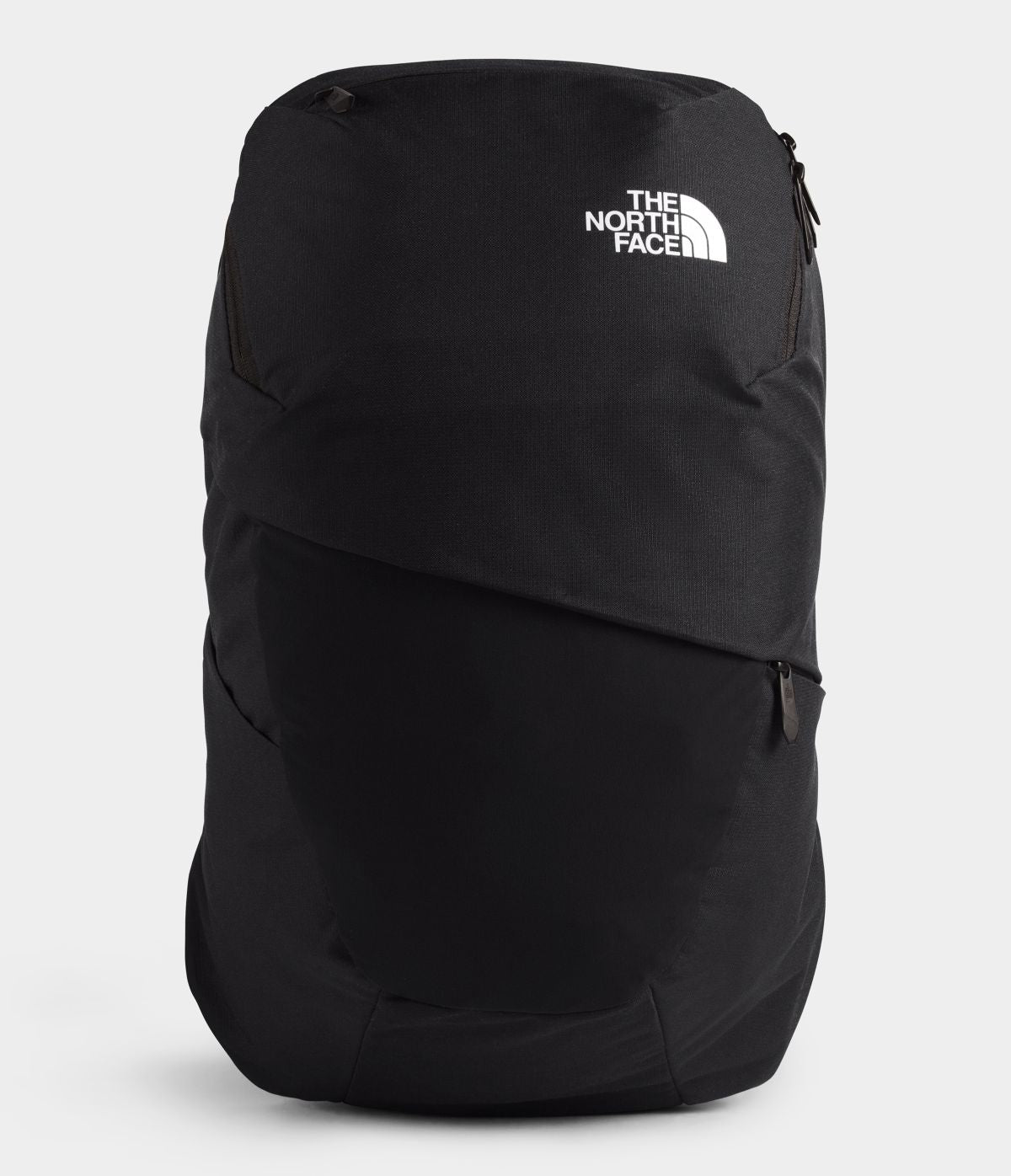 Women's The North Face Aurora Backpack in TNF Black Heather/TNF White from front view