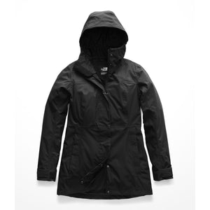 Women's The North Face City Midi Trench  in TNF Black