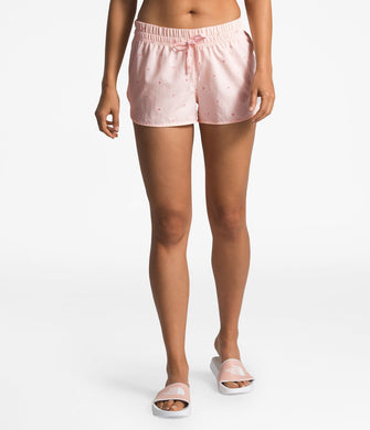 Women's The North Face Class V Mini Short  in Pink Salt Outdoor Print