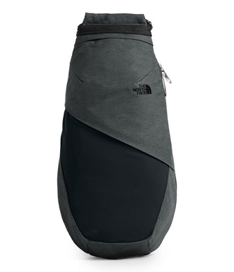 Women's The North Face Electra Sling Large in Asphalt Grey Light Heather/TNF Black from front view