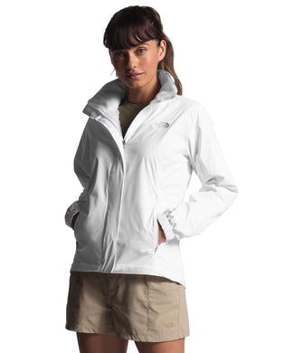 Women's The North Face Resolve 2 Jacket  in TNF White/TNF White