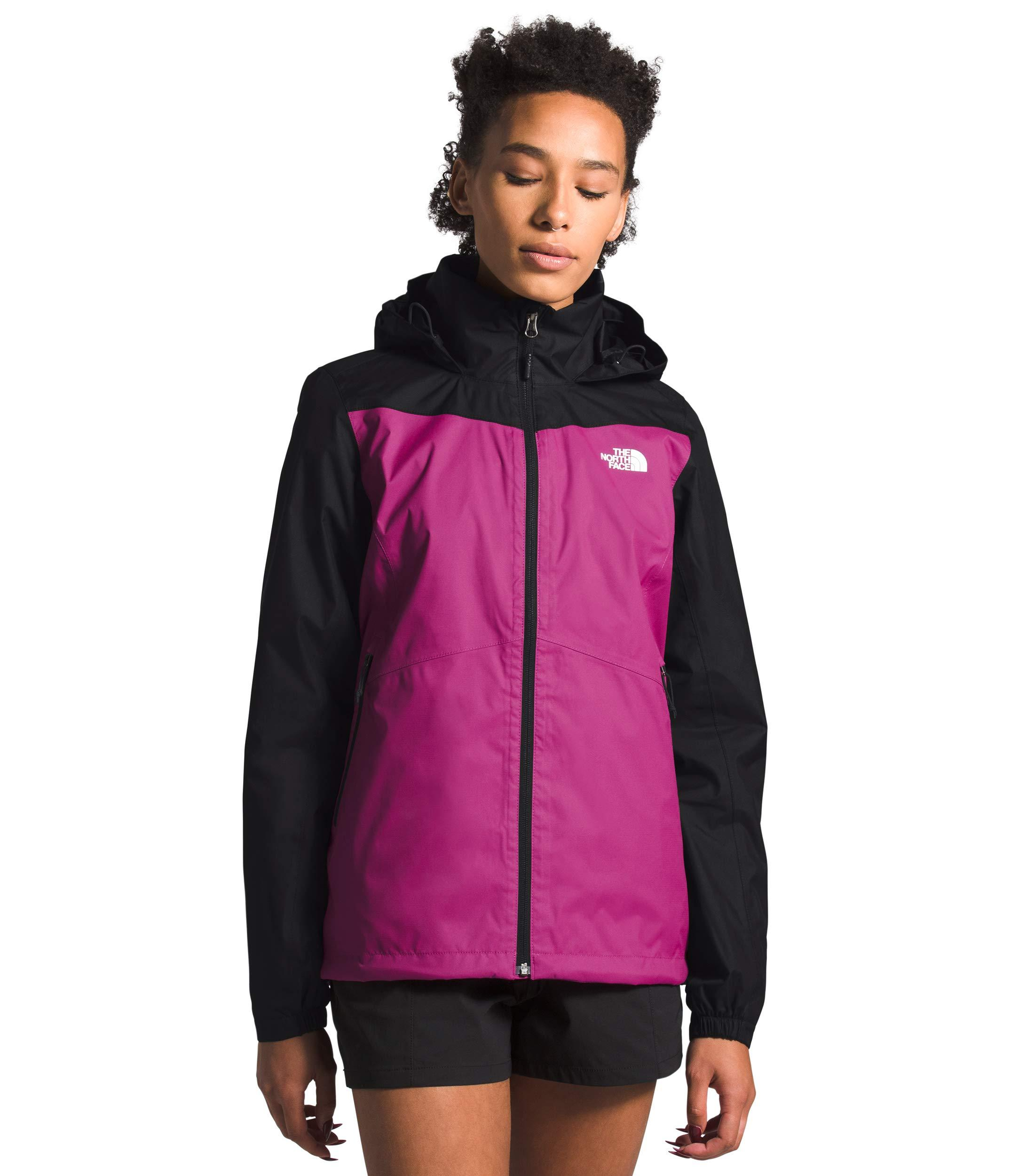 Women's The North Face Resolve Plus Jacket  in Wild Aster Purple/TNF Black