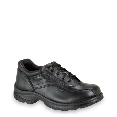 Thorogood 534-6908 Women's Soft Streets™ Double Track Oxford Uniform Shoe in Black from the side