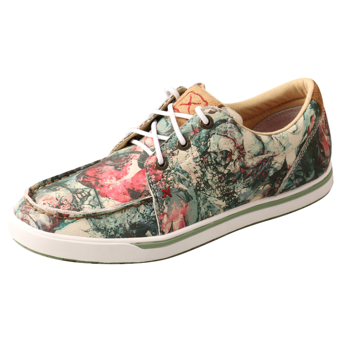 Women's Twisted X Casual Kicks Shoe in Multi from the front