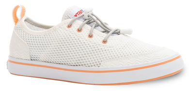 Women's Xtratuf Riptide Water Shoe in White from the side