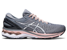 Load image into Gallery viewer, Women's Asics GEL-Kayano 27 Running Shoe in Sheet Rock/Pure Silver from the side