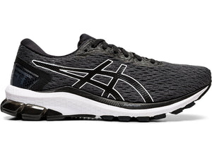 Women's Asics GT-1000 9 Running Shoe in Carrier Grey/Black from the side
