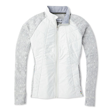 Women's Smartwool Smartloft 60 Jacket in Ash from the front