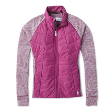 Load image into Gallery viewer, Women's Smartwool Smartloft 60 Jacket in Sangria from the front