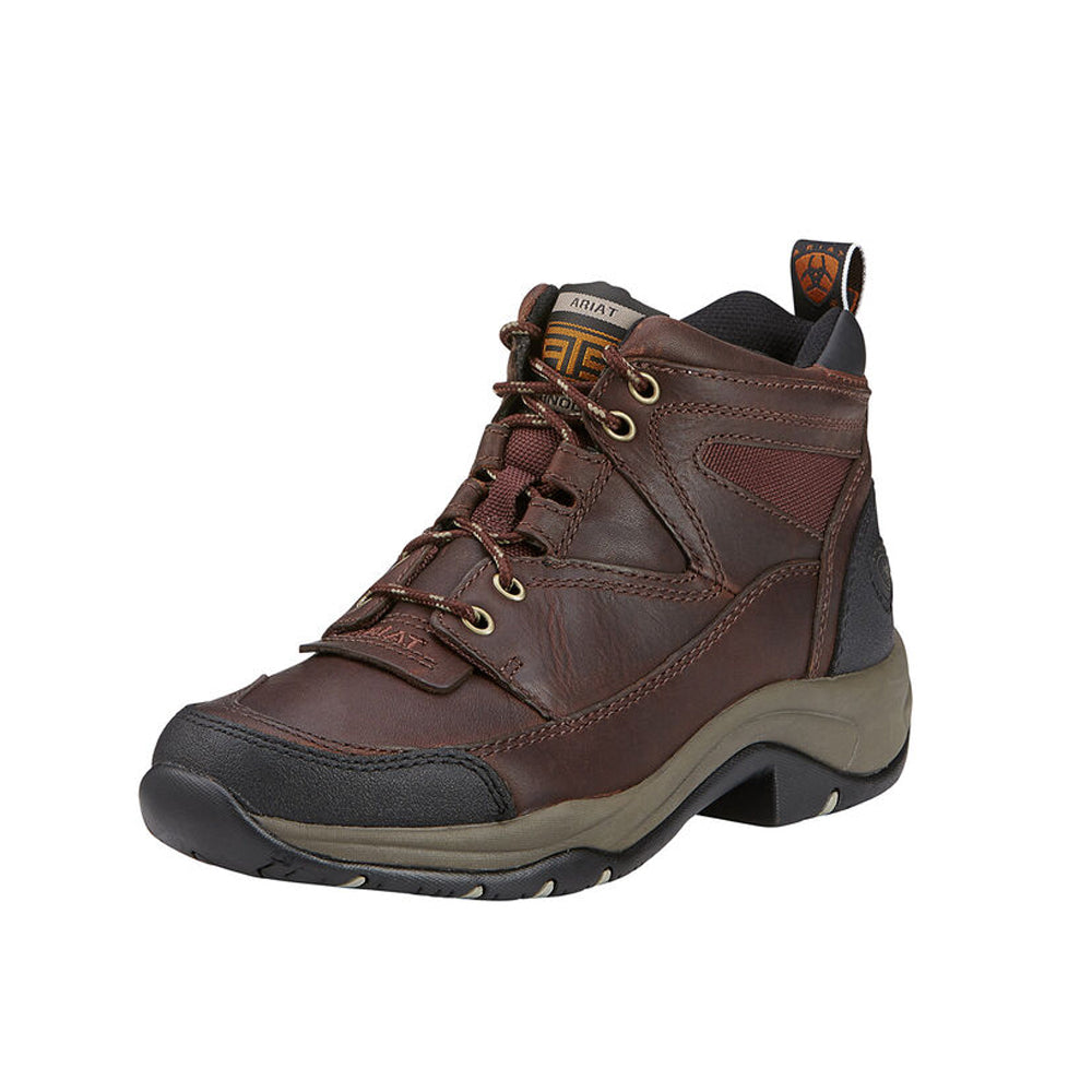 Women's Terrain Boot in Cordovan from the side