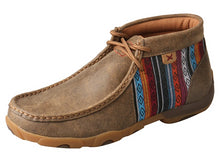 Load image into Gallery viewer, Women's Twisted X Chukka Driving Moccasins Shoe in Bomber & Multi from the front