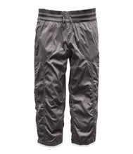Load image into Gallery viewer, Women's The North Face Aphrodite 2.0 Capri Pant in Graphite Grey from the front