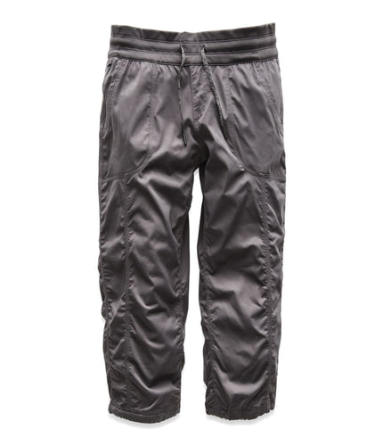 Women's The North Face Aphrodite 2.0 Capri Pant in Graphite Grey from the front