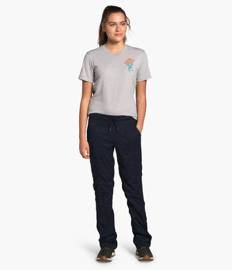 Women's The North Face Aphrodite 2.0 Pant in Graphite Grey from the front