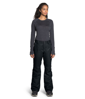 Women's The North Face Sally Pant in TNF Black from the front