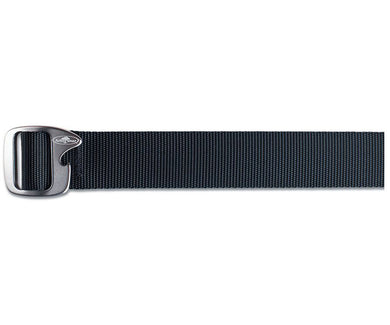 After Hours Belt in Black color from the front view